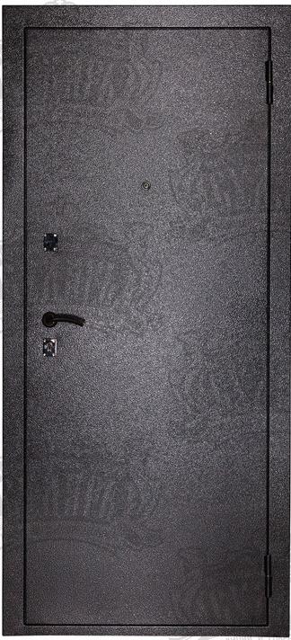 Двери МД-01 серебро