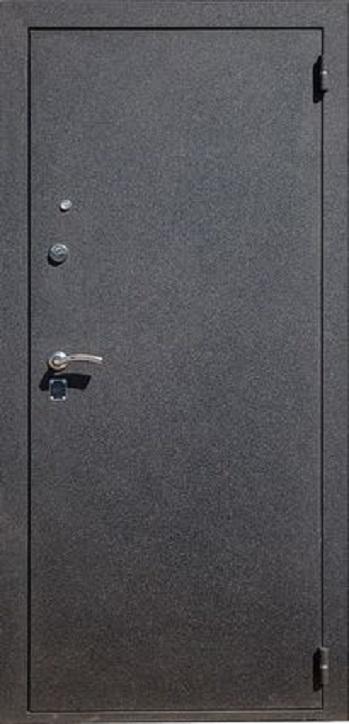 Двери HI-TEK ЭКО Чёрный металлик