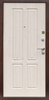 Двери Х 2 вид сзади