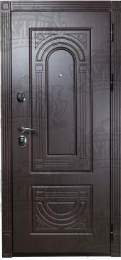 Двери МД-31 венге-венге вид сзади