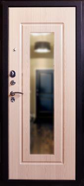 Двери Респект-Беленый Дуб вид сзади