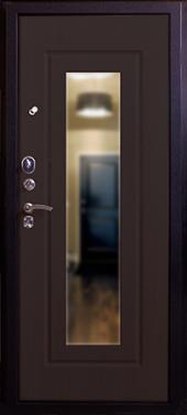 Двери Респект-Венге вид сзади
