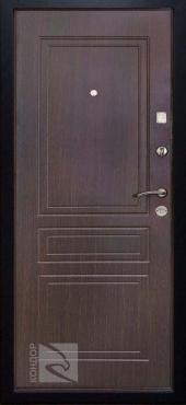 Двери 8 Венге вид сзади