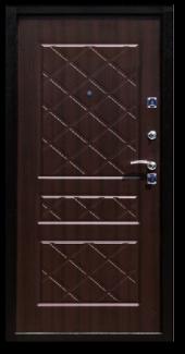 Двери Стандарт Венге вид сзади