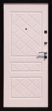 Двери Стандарт Беленый дуб вид сзади