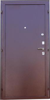 Двери 7 Дача вид сзади