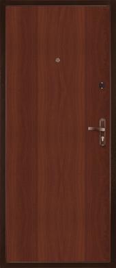 Двери Мастер 2 мет/МДФ вид сзади