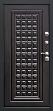 Двери Контур Венге вид сзади