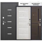 Двери GARDA 7,5 МУАР ЦАРГА вид сзади