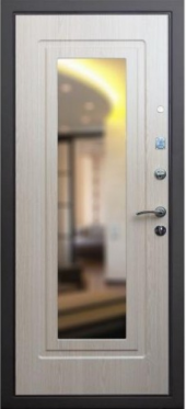 Двери Престиж - 3 контура вид сзади