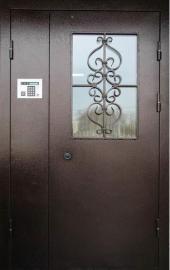 Входная дверь с установкой домофона заказчика ( без подключения)