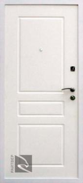 Двери Райтвер Х4 белый вид сзади
