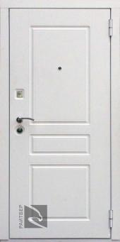 Двери Райтвер Х4 белый вид спереди