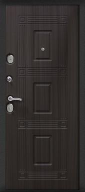 Двери Гранд 100 Венге вид сзади