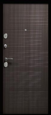 Двери Модерн 7,5 Венге вид сзади