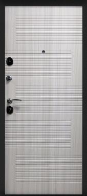 Двери Модерн 7,5 Сандал светлый вид сзади